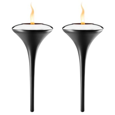 2x Outdoor Torchs: EVA SOLO GARDEN TORCH SET