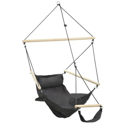 Outdoor/Indoor Hanging Chair: SWINGER BLACK
