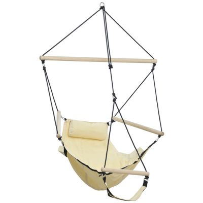 Outdoor/Indoor Hanging Chair: SWINGER SAND