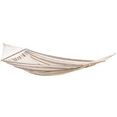 Brazilian XL Hammock with Bars: BRASILIA CAPPUCCINO (Pillow NOT included)