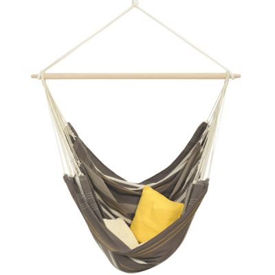 XXL Hammock Hanging Chair: BRASIL GIGANTE CAFÉ (Pillows NOT included)