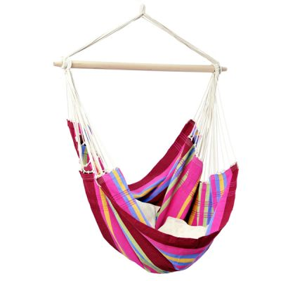 XL Hammock Hanging Chair: BRASIL GRENADINE - Pillows NOT included