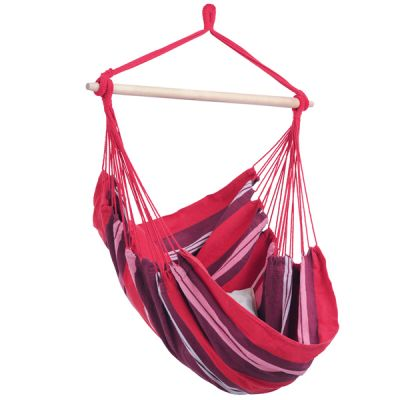 Outdoor/Indoor Hammock Hanging Chair: HAVANNA FUEGO (pillow not included)