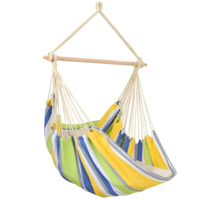 Outdoor/Indoor Hammock Hanging Chair: RELAX KOLIBRI (Pillows not included)