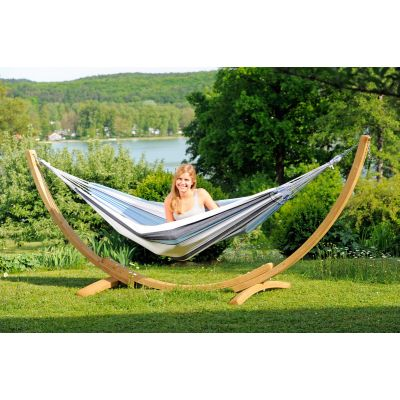 Outdoor/Indoor Hammock with Stand: APOLLO SET MARINE