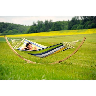 Outdoor/Indoor Hammock with Bars & Stand: STARSET KOLIBRI