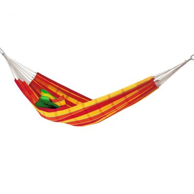 Brazilian XL Hammock: BARBADOS PAPAYA (Pillows not included)