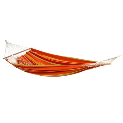 Brazilian L Hammock with Bars: BRASILIA MANGO (pillows not included)