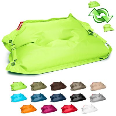 Outdoor XL Bean Bag/Puff: FATBOY BUGGLE-UP - Lime Green
