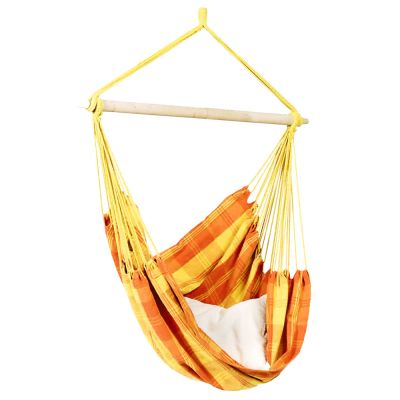 Outdoor Hammock Hanging Chair: RELAX ORANGE (pillow not included)
