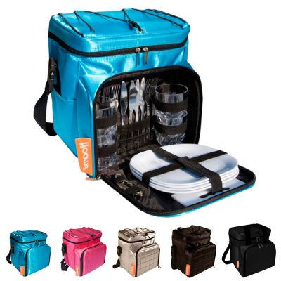 Picnic Kit Bag: SMOOFF HIPNIC - Sky Blue