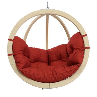 Outdoor-Indoor Hanging Chair: KID'S GLOBO TERRACOTA
