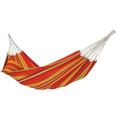 Brazilian L Hammock: LAMBADA MANGO (pillow not included)