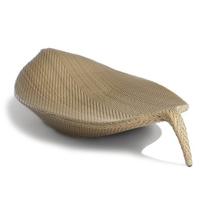 XL Design Sunbed: DEDON LEAF - Seagrass
