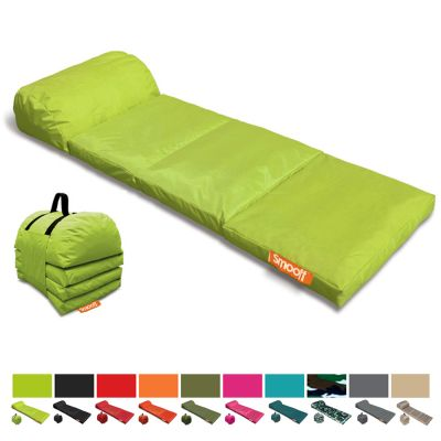 Outdoor Portable Mattress: SMOOFF LOUNGE CUSHY - Lusty Lime Green