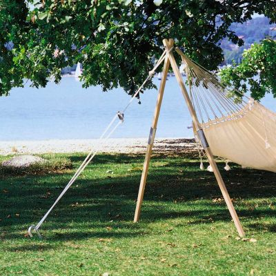 Outdoor Hammock Stand System: MADERA (Hammock is sold separately)