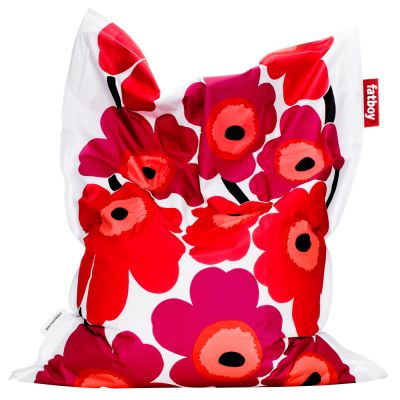 Design Bean Bag/Puff: FATBOY-MARIMEKKO UNIKKO RED