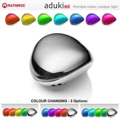 Portable Outdoor & Indoor Colour Changing Mood Light: MATHMOS ADUKI NI