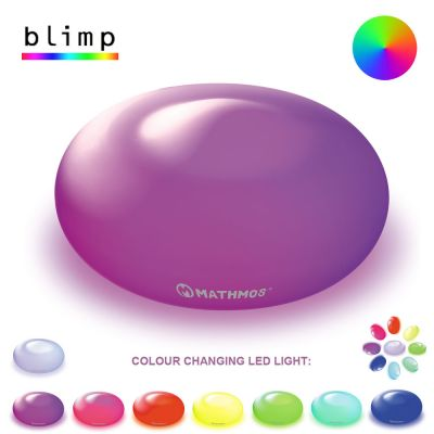 Glass Colour Changing LED Light: MATHMOS BLIMP