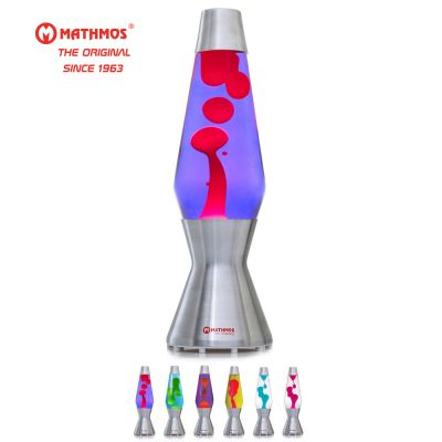 Lava Lamp: MATHMOS ASTRO - THE ORIGINAL_Violet/Red