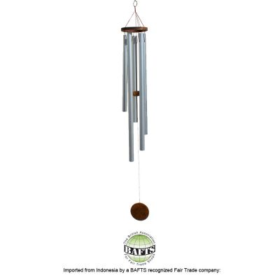 Long Metal Windchime: BALI FAIRTRADE HANDMADE