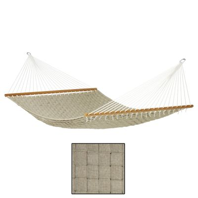 North American Style Kingsize (XL) Hammock with Bars: LOUISIANA CROCODILE