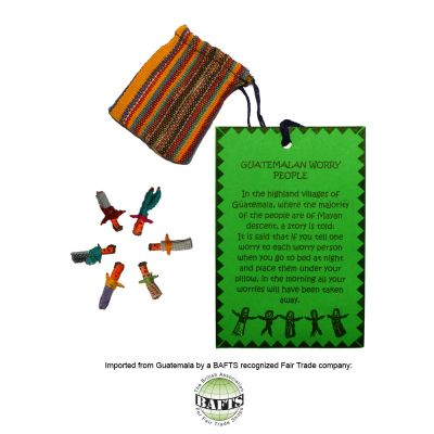 Fairtrade Ritual Gift: MINI GUATEMALAN WORRY DOLLS