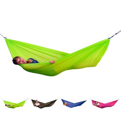 Outdoor Parachute XL Hammock: TRAVEL SET_LIME GREEN