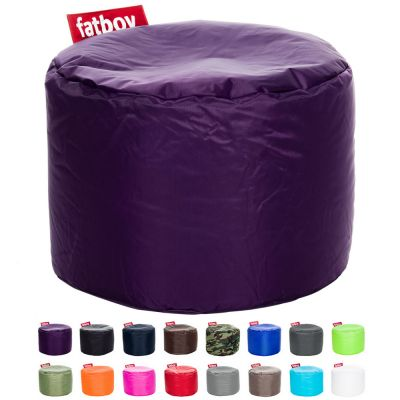 Bean Bag & Footstool: FATBOY-POINT - Dark Purple