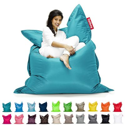 Bean Bag/Puff: FATBOY-THE ORIGINAL - Turquoise