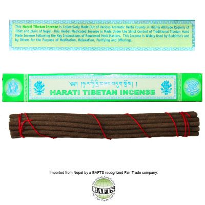 Fair Trade Meditation Tibetan Incense: HARATI