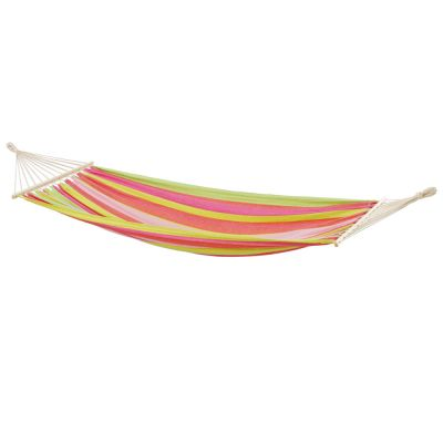 Outdoor Hammock with Bars: TONGA BUBBLEGUM