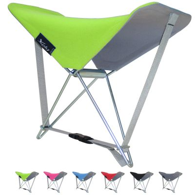 Portable Outdoor Lounge Seat & Back Rest: Y.PLY (GREEN)