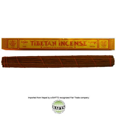 Fair Trade XL Tibetan Incense: ZIMPU RITUAL - TAGGI