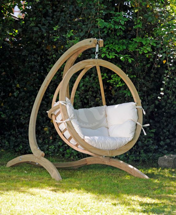 Outdoor Indoor Hanging Chair Stand Globostand Relaxtribe